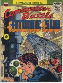 Commander Battle and the Atomic Sub #1