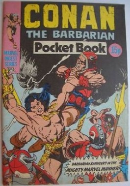 Conan the Barbarian Pocket Book #4