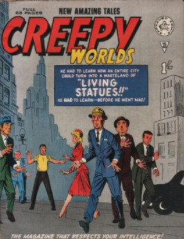 Creepy Worlds #45