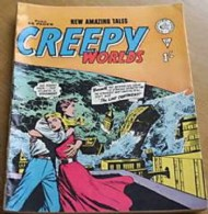 Creepy Worlds 1962 - 1989 #54