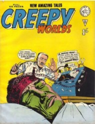 Creepy Worlds 1962 - 1989 #55