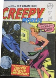 Creepy Worlds 1962 - 1989 #91