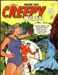 Creepy Worlds 1962 - 1989 #100