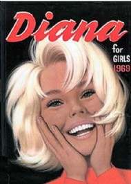 Diana Book for Girls 1965 - 1986 #1969