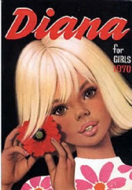 Diana Book for Girls 1965 - 1986 #1970