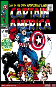 Captain America (1st Series) 1968 - 1996 #100