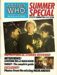 Doctor Who Summer Special  #1986