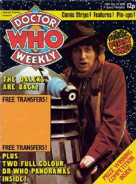 Doctor Who Weekly / Monthly Magazine #1