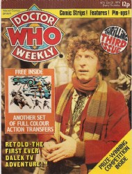 Doctor Who Weekly / Monthly Magazine 1979 - #3