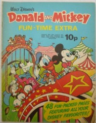 Donald and Mickey Fun Time Extra  #1972