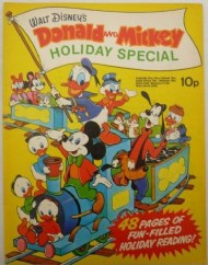Donald and Mickey Holiday Special  #1972