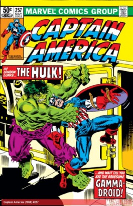 Captain America (1st Series) #257