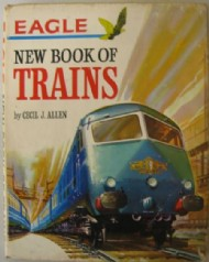 Eagle New Book of Trains  #1963