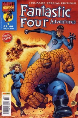 Fantastic Four Adventures (1st Series) #1