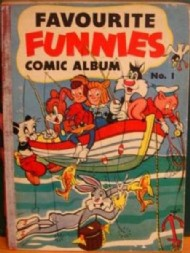 Favourite Funnies Comic Album  #1