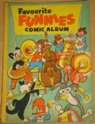 Favourite Funnies Comic Album  #3