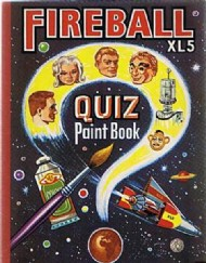 Fireball Xl5 Quiz Paint Book  #1966