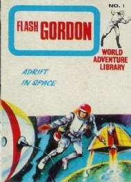 Flash Gordon World Adventure Library 1967 #1
