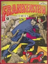 Frankenstein Comics 1953 #2