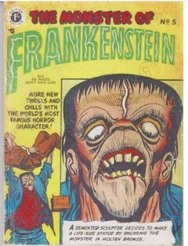 Frankenstein Comics #5