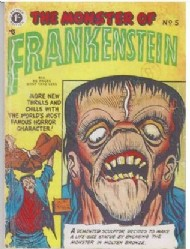 Frankenstein Comics 1953 #5