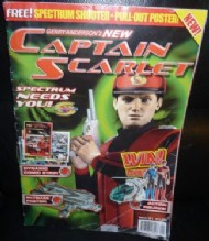 Gerry Anderson's the New Captain Scarlet Oct-05 #1