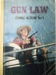 Gun Law Comic Album 1968 #1