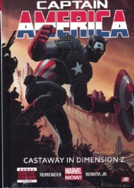 Captain America (7th Series): Castaway in Dimension Z 2013 #1