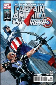 Captain America and Hawkeye 2012 #629