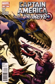 Captain America and Hawkeye 2012 #631