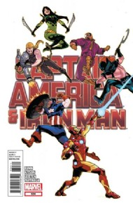 Captain America and Iron Man 2012 #634
