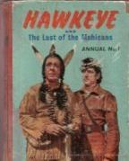 Hawkeye and the Last of the Mohicans Annual #1958