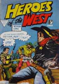 Heroes of the West 1959 #154