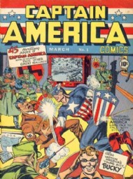 Captain America Comics 1941 - 1954 #1