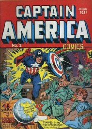 Captain America Comics 1941 - 1954 #2
