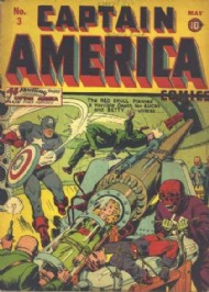 Captain America Comics 1941 - 1954 #3