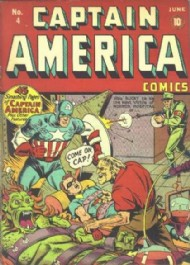 Captain America Comics 1941 - 1954 #4