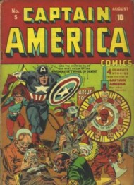 Captain America Comics 1941 - 1954 #5