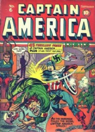 Captain America Comics 1941 - 1954 #6