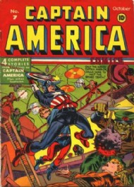 Captain America Comics 1941 - 1954 #7