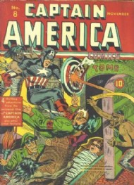 Captain America Comics 1941 - 1954 #8
