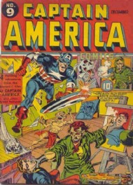 Captain America Comics 1941 - 1954 #9
