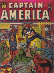 Captain America Comics 1941 - 1954 #10