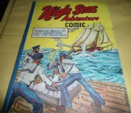 High Seas Adventure Comic 1950s