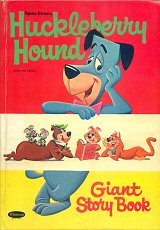 Huckleberry Hound Giant Story Book  #1961