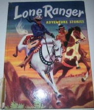 Lone Ranger Adventure Stories  #1958