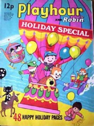 Playhour and Robin Holiday Special  #1973