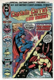 Captain Carrot and His Amazing Zoo Crew 1982 - 1983