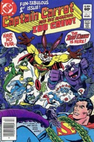 Captain Carrot and His Amazing Zoo Crew 1982 - 1983 #1