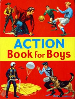 The Action Book for Boys #1968